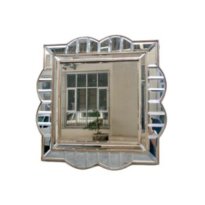 Squared Shaped Broder Mirror