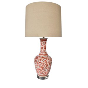 Coral Lamp Crystal base with shade