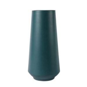 Modern Vessel Dusty Teal Ceramic Pots