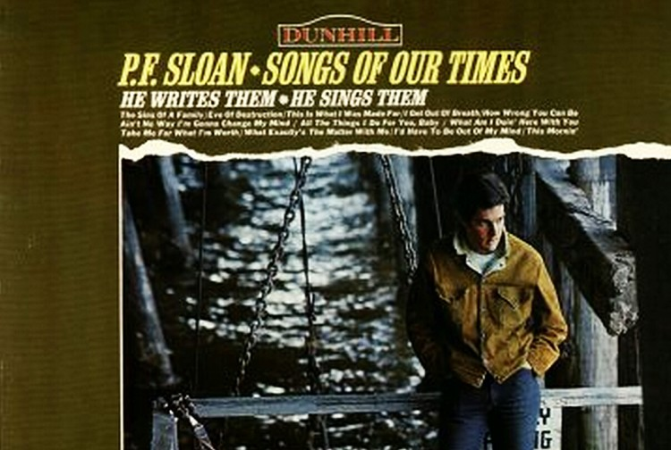 #Post • P. F. SLOAN: 'Eve Of Destruction' Co-Writer Passes Away + 8 More of His Songs by Others [Audio] /