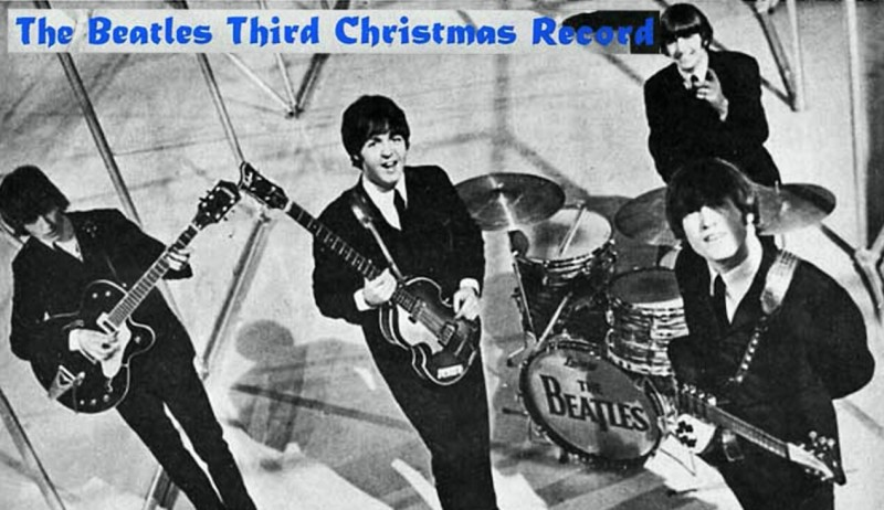 #OriginalPresentation • THE BEATLES: Official Fan Club Christmas Record (1965) in HD! /