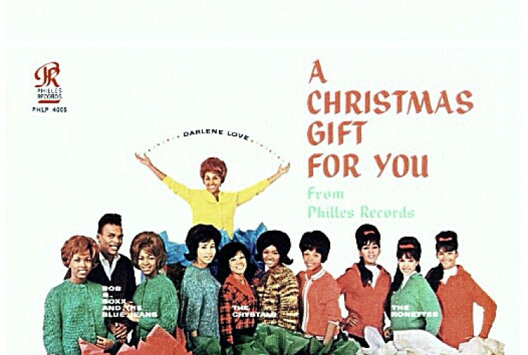 #OriginalPresentation • PHIL SPECTOR'S CHRISTMAS ALBUM / Track #7: 'I Saw Mommy Kissing Santa Claus' by The Ronettes in HD STEREO! /