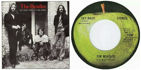 Beatles:45:BillyPreston:GetBack:Combo