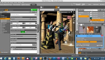 Poser Format Lights – Set 2 – Sword and Labrys Productions