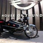 Royal Enfield C5 Classic Chrome Black With Sidecar House Of Thunder