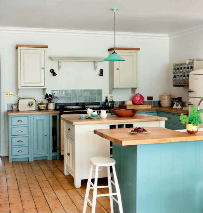 Turquoise And Cream Kitchen House Of Turquoise