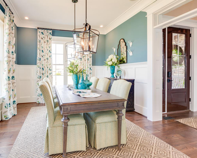 WeldenField and Rowe Custom Homes  House of Turquoise