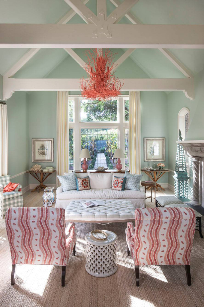 house of turquoise living room bright lighting ideas massucco warner miller interior design