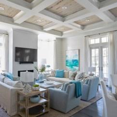 House Of Turquoise Living Room Kid Friendly Ideas Geoff Chick Associates Coastal