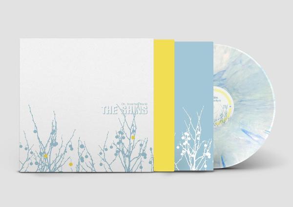 The Shins – Oh, Inverted World vinyl blue