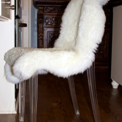 Sheepskin Rug On Chair Big Lots Table And Chairs Costco Rugs
