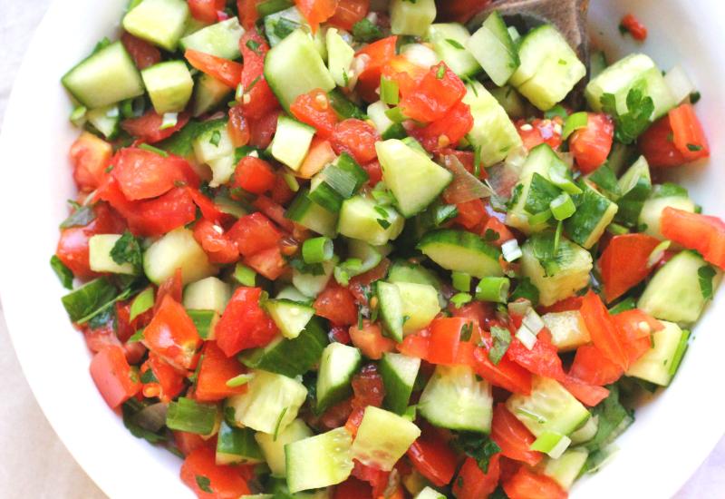 Tomato & Cucumber Salsa