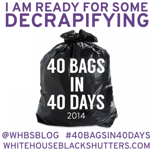 40 Bags in 40 days WHBS image