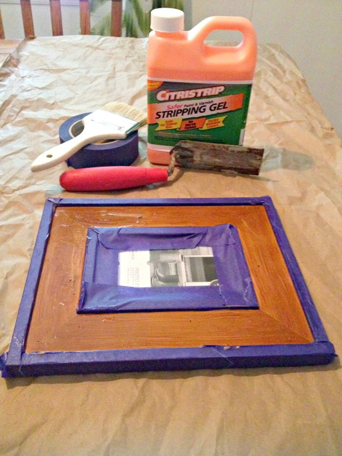 Stripping Picture Frame