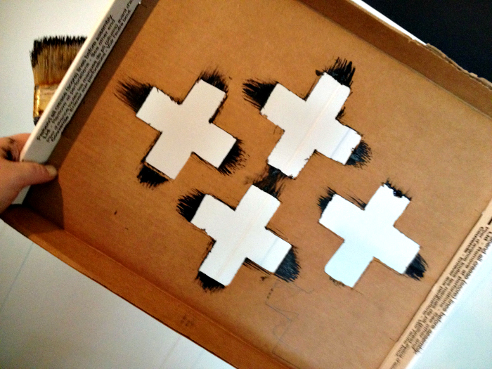 Swiss Cross Stencil
