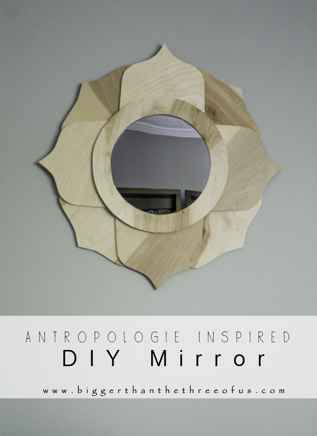 Anthro DIY mirror