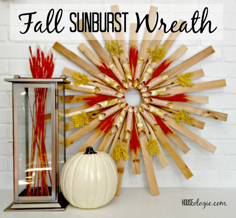 Sunburst Wreath - Houseologie
