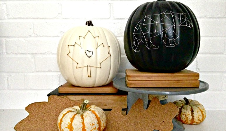 Pick Your Pumpkin – DIY String Art Pumpkins