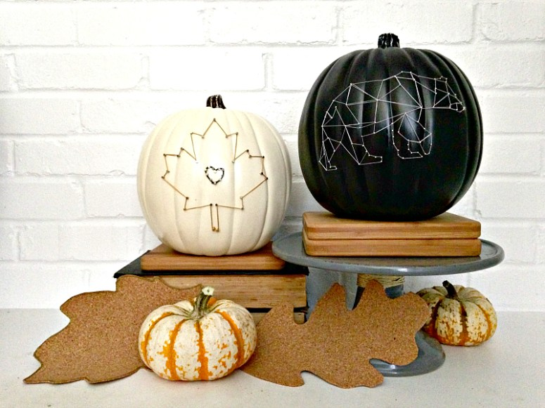 String Art Pumpkins