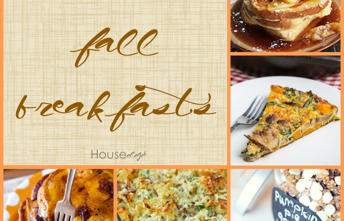 Fall Finds Friday – 15 Fall Breakfasts
