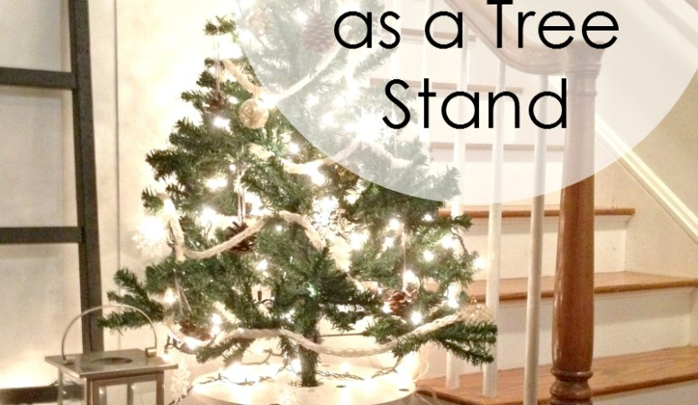 12 Posts of Christmas – Cable Spool Tree Stand