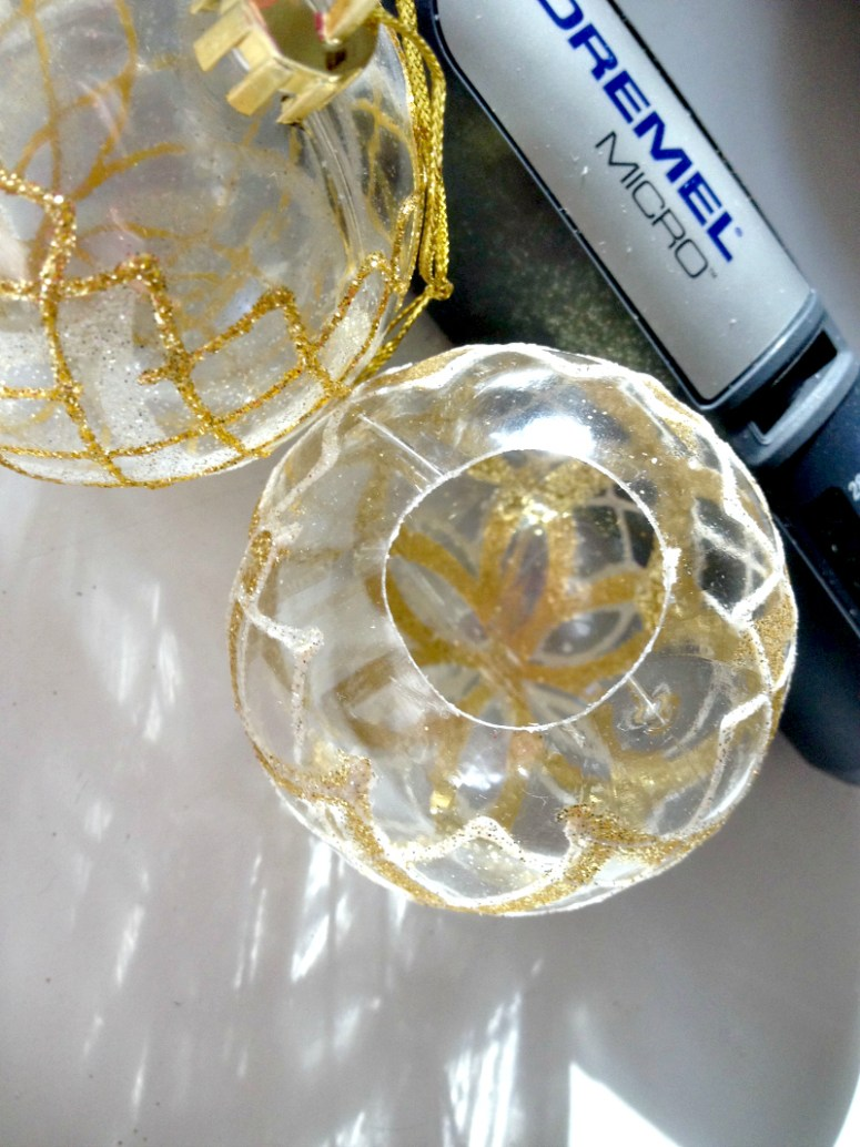 Clear Christmas Ornament Project