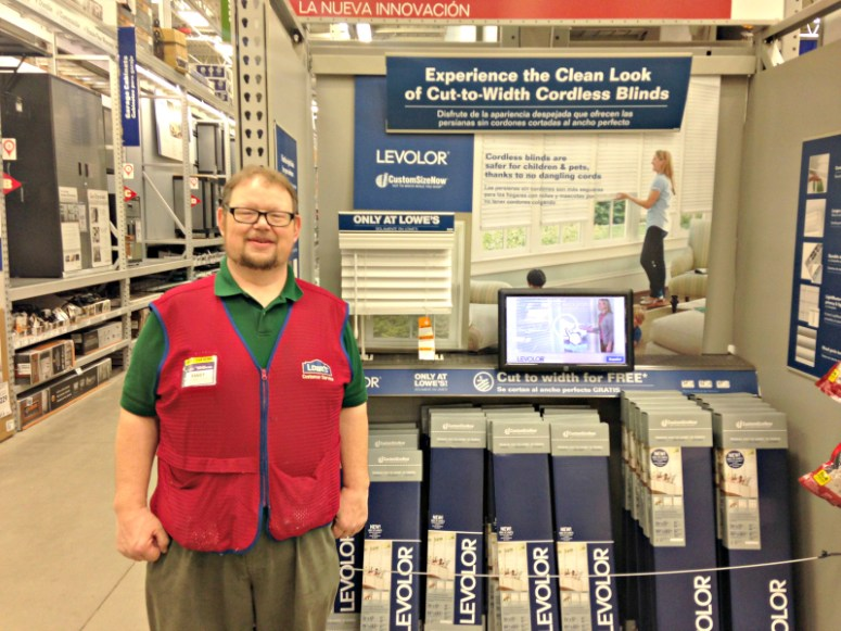 Randy at Lowe's