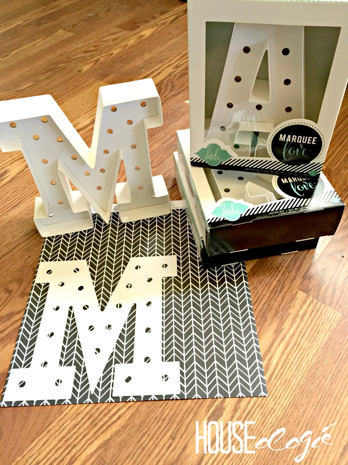 Heidi Swapp Marquee Letters