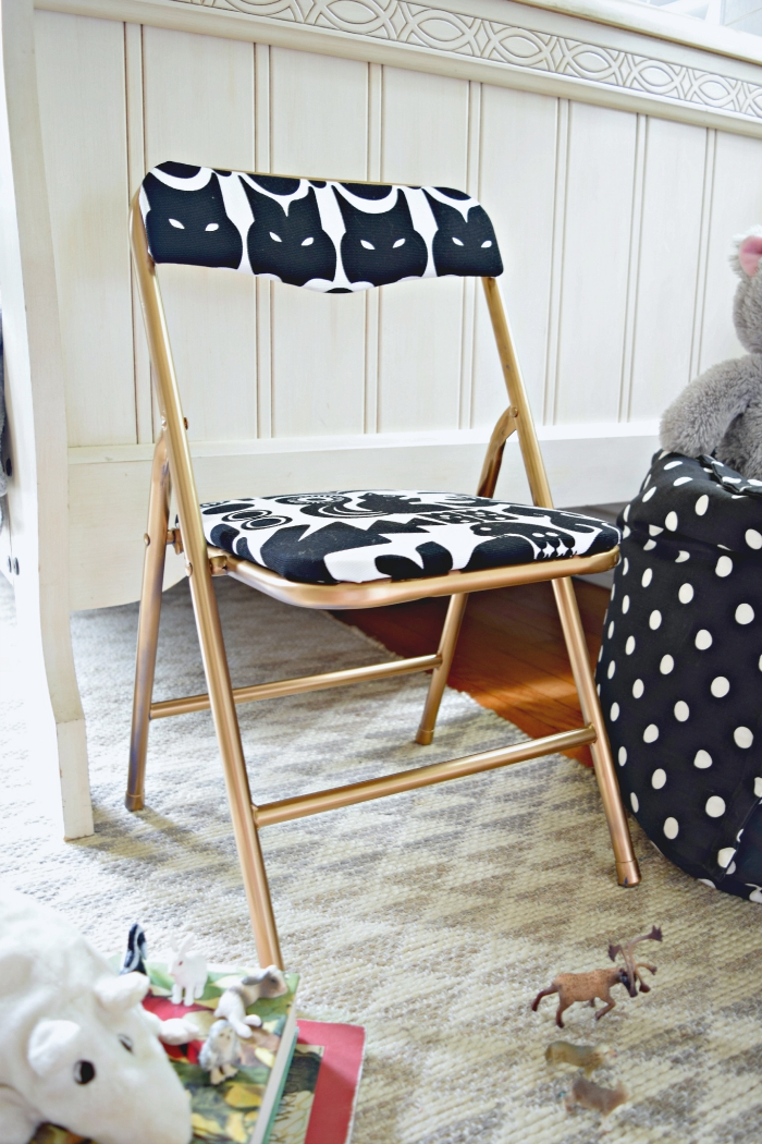 DIY Kids Upholstered Chair