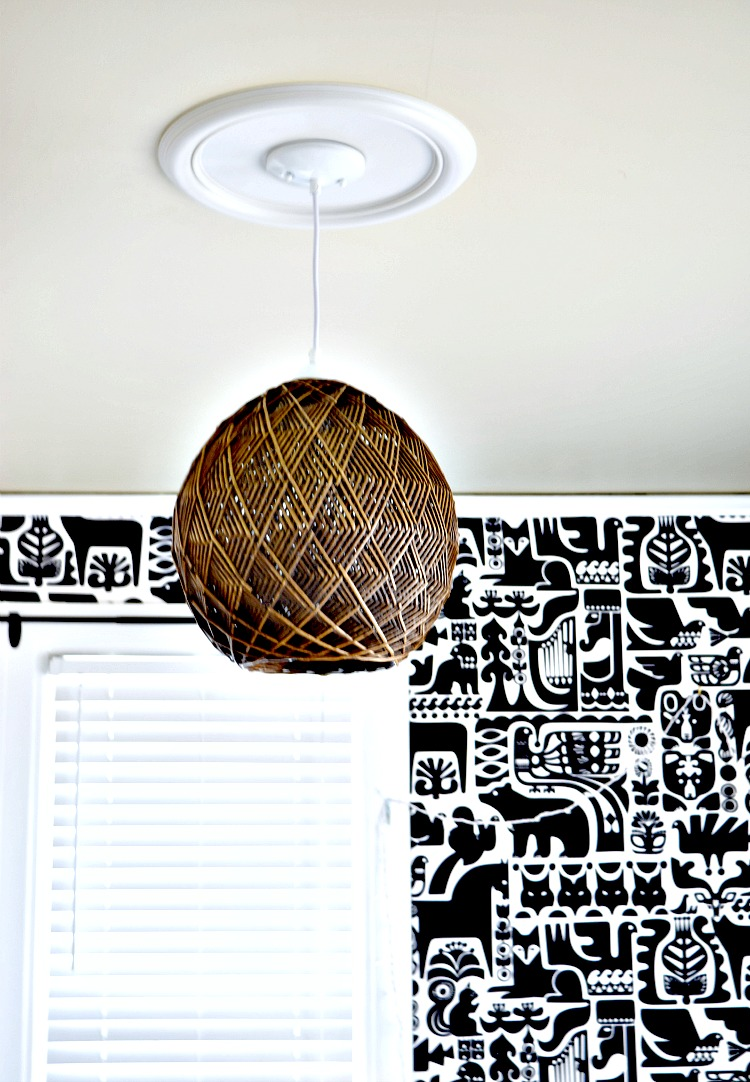 Weaved Pendant Light
