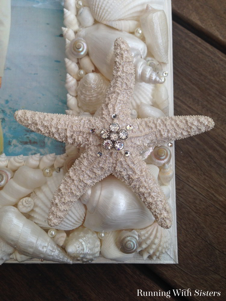 Diy Sea Shell Picture Frame