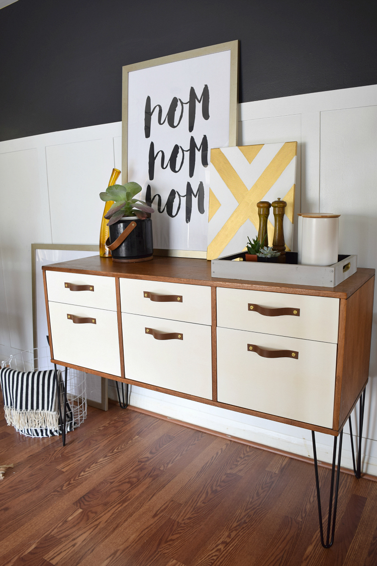 Superior Dining Room Credenza With Hairpin Legs