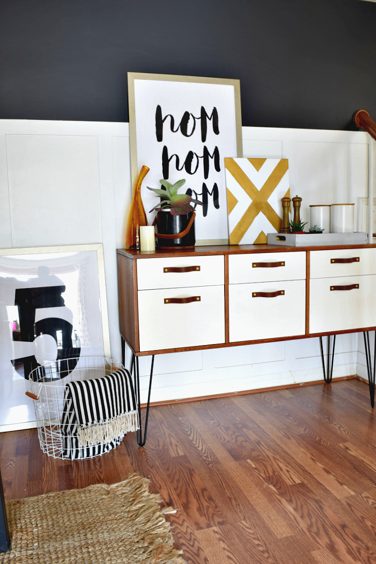 Painted TwoToned Dining Room Credenza Houseologie