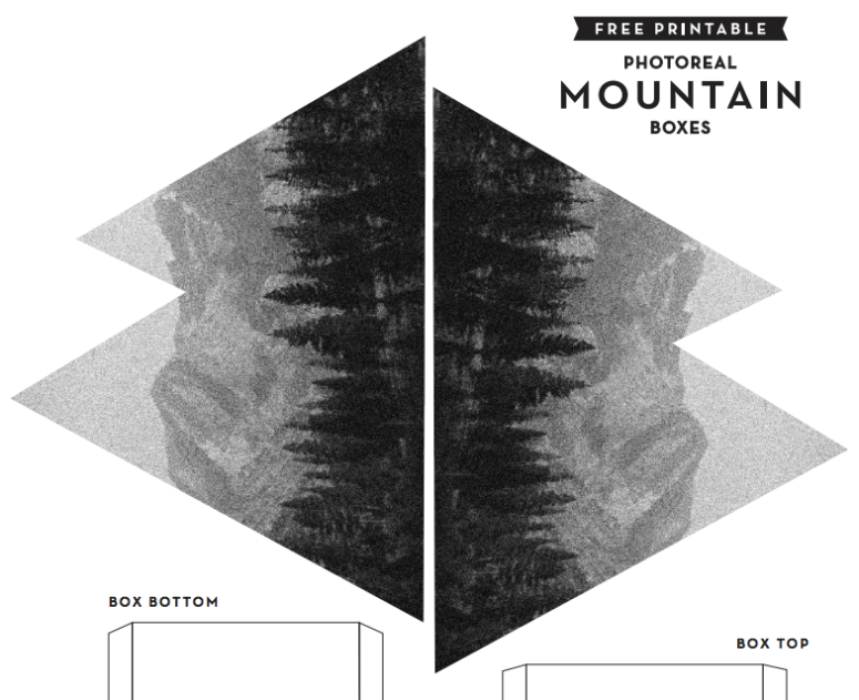 Mountain Printable