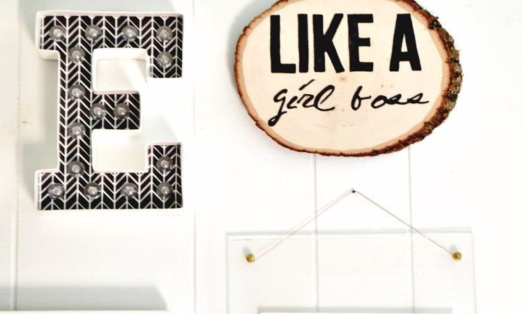 Craft Room Gallery Wall: An Update
