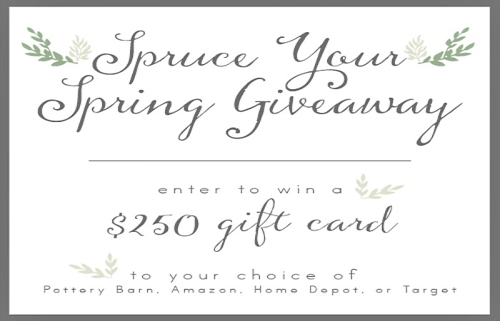 Spruce Your Spring Giveaway