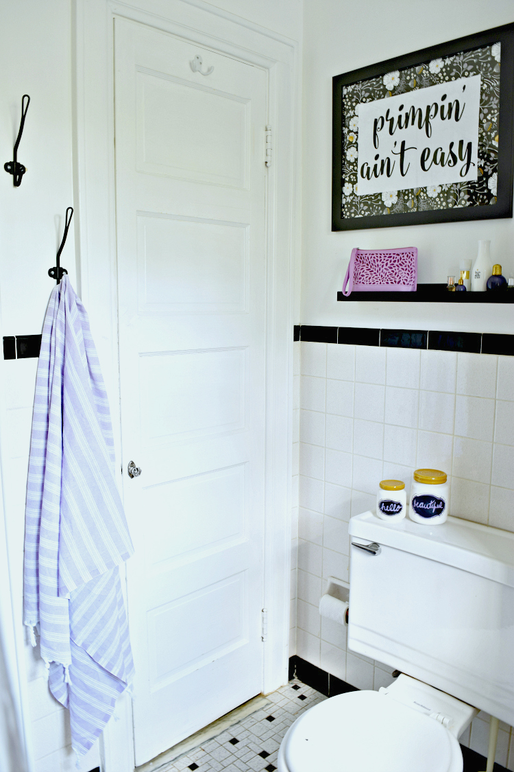 Teen Girl Bathroom Refresh