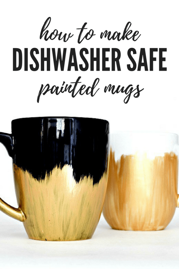 Diy Dishwasher Safe Painted Mugs Houseologie