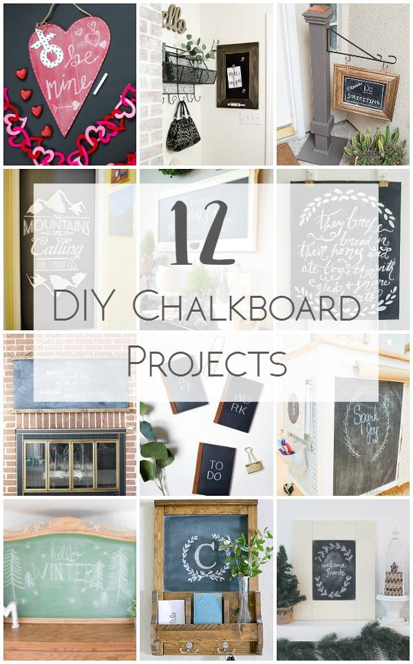For Organization or Decor, chalkboards are the way to go!