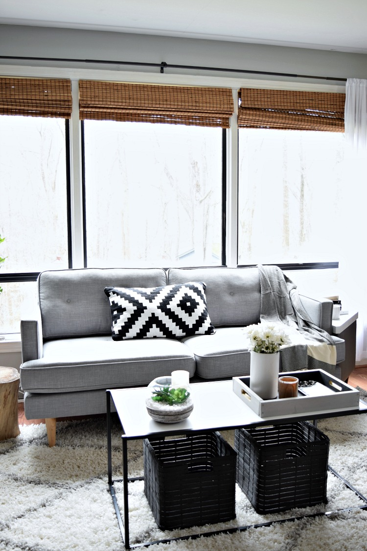 Source List For Our Affordable Living Room Makeover