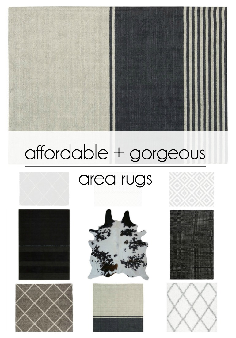 Affordable and gorgeous area rugs