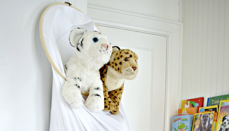 Pillowcase Stuffed Animal Storage