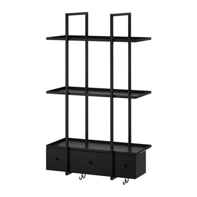 Love this IKEA wall shelf, would be perfect for the kitchen!!