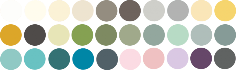 The FAT Paint Co. color palette.