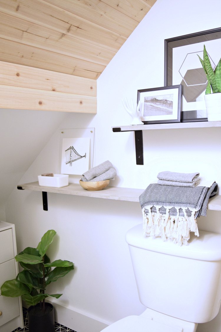 You Wonu0027t Believe This TINY Main Floor Bathroom Remodel!