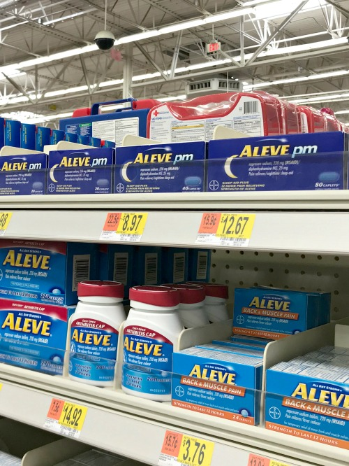 aleve in store photo