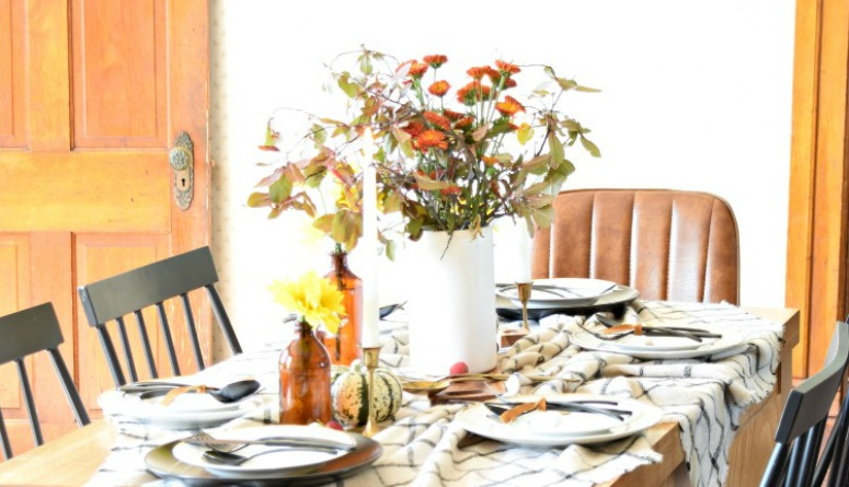 A Gathered Fall Tablescape