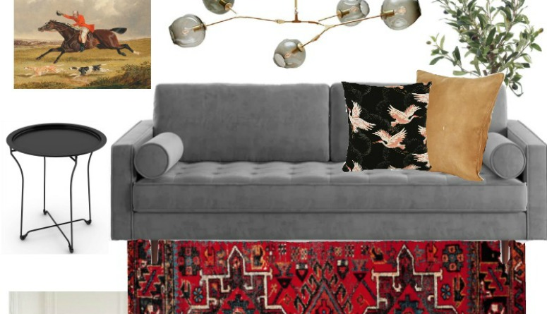 ORC Living Room Mood Board Feature