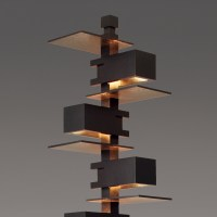 Taliesin 2 Black Edition Floor Lamp -House O' Luv