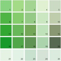 Benjamin Moore Paint Colors - Green Palette 12 | House ...